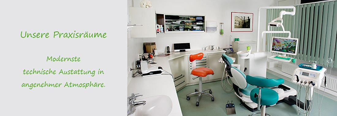 Header Praxisansichten Zahnarztpraxis Dr. Peter Gerber